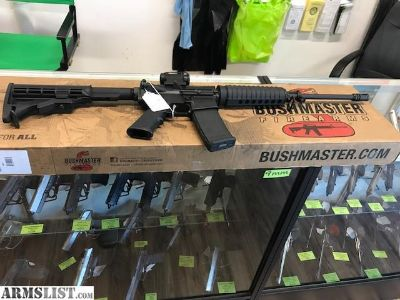 For Sale: New Bushmaster AR-15 QRC with mini red dot