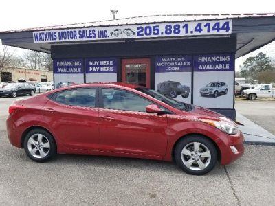 2012 Hyundai Elantra GLS (Red)