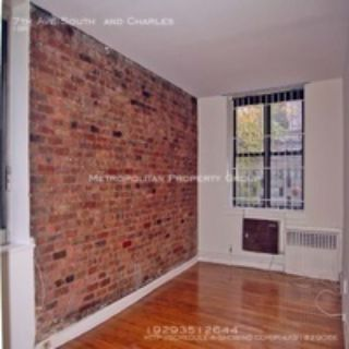 West Village - Prime 1 Bedroom With Exposed Brick, Lots of Character !