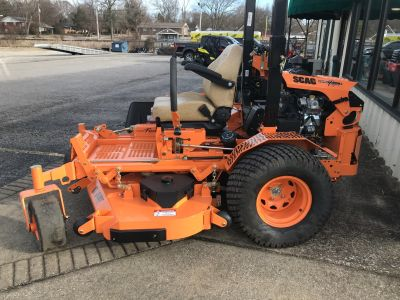 2017 SCAG Power Equipment Turf Tiger (STT61V-35BVAC) Zero-Turn Radius Mowers Lawn Mowers Glasgow, KY