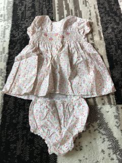 18 month dress with diaper cover