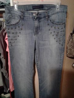 Super Sexy Rock Republic Like New Jean pants with spike studs on the front and back Size 10 $15
