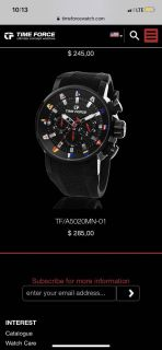 Time Force Watches All 50% OFF
