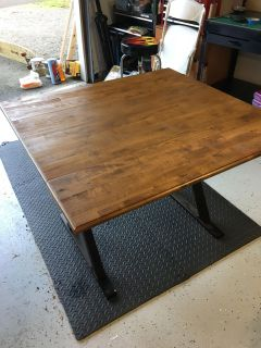 Dinning Room table foldable 3 5 x 3 7