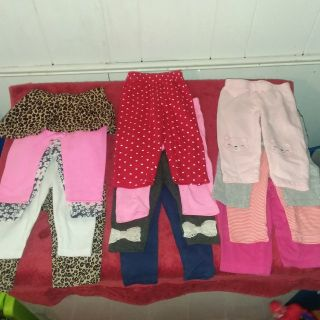 Girl tights /stretch pants 6-9 months
