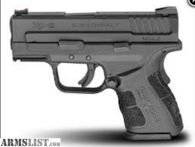 For Sale: SPRINGFIELD ARMORY Pistol XD-9MM SC COMPACT