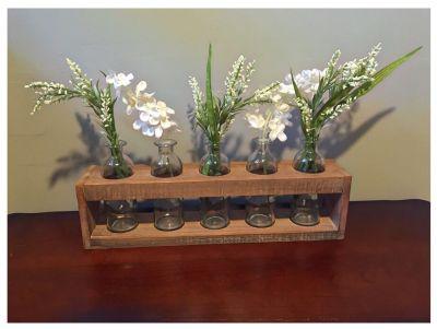 Handcrafted floral arrangement