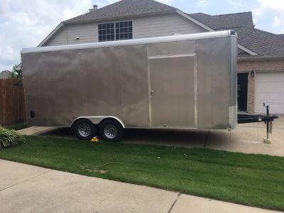 2018 Mirage enclosed trailer