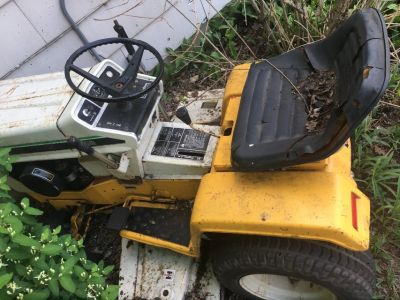 Cub Cadet 108 Riding Mower for parts or repair