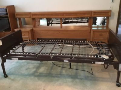 Steel Electric Twin Hospital beds