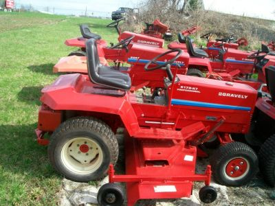 Gravely Riders, Parts, & Repairs
