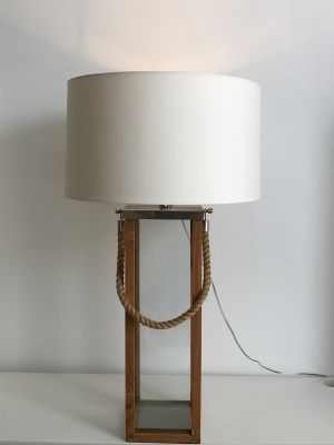 Vintage and Mid Century Influenced Table Lamp