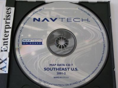 Find Range Rover Mini BMW Nav CD # 0117 Edition 2002 Map 7 Southeast AL FL GA NC SC motorcycle in San Marcos, California, United States, for US $59.95