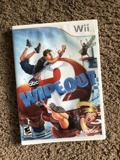 Nintendo Wii Game: Wipeout 2 with Booklet Insert, GUC except for case is cracked on bottom as seen in pic 2, $5. Porch pick up only.