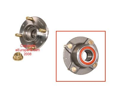 Sell NEW Proparts Wheel Bearing and Hub - Rear 77347384 Saab OE 8947384 motorcycle in Windsor, Connecticut, US, for US $67.94