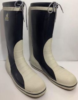 Tall Sailing Yachting Deck Boot By Douglas Gill Size 45 US 12