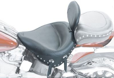 Find Mustang Wide Studded Solo Seat W/Driver BR (79437) motorcycle in Holland, Michigan, United States, for US $488.07