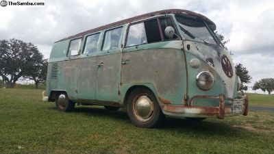 1963 VW Bus 11 window (plus a 1962 DC + $10,000)