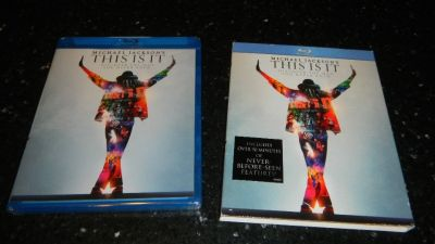 NEW This Is It Blu-Ray DVD Micheal Jackson Movie Factory Sealed