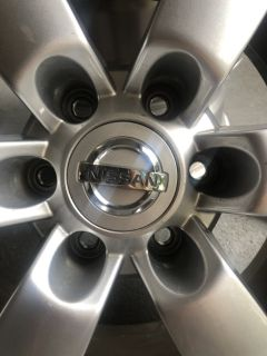 Nissan Titan Factory Alloy Wheels
