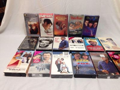 Set of 17. VHS Movies. Assorted. Pick up at Target in McCalla on Thursdays 5:15 to 6:00pm.