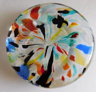 Mid-Century Murano Glass Paper Weight