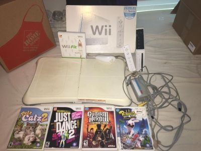 Wii, Wii fit, and games