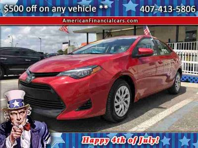 Used 2018 Toyota Corolla for sale