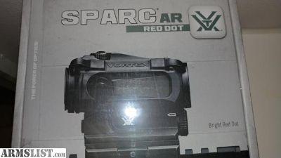 For Sale: BNIB Vortex sparc ar red dot