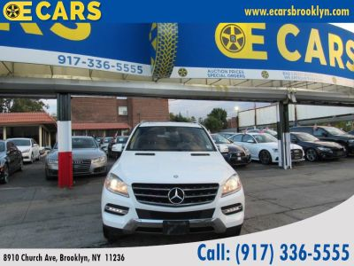 2015 Mercedes-Benz M-Class 4MATIC 4dr ML350 (White)