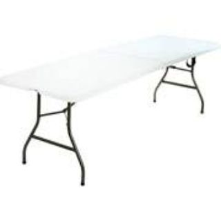 Wanted  Plastic Folding Collapsible Banquet Table 6ft. long (canton, tx)