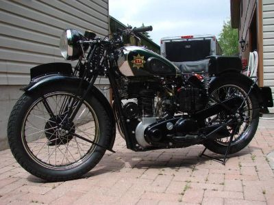1937 BSA 500 Sports- Empire Star