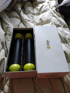 Brand new in package Zumba weights