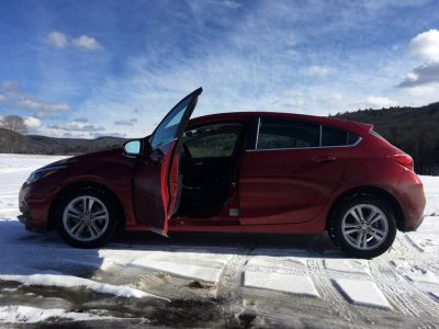2017 Chevy Cruze Hatchback LT Turbo with 13,500 miles