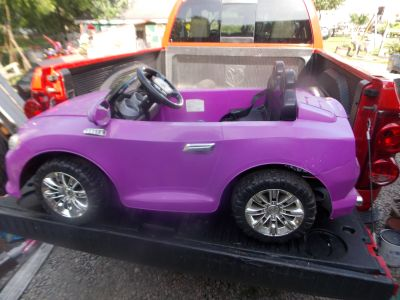 !2v Ride on Kids Purple Convertible like Power Wheels