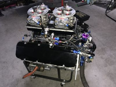 Jesel, Brodix,Twin Turbo 632,Billet,Dart,10.5,Brodix,Chief