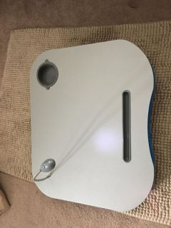 Lap board with light- like new