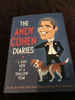 Andy Cohen Diaries hardcover with dust jacket like new