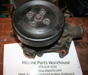 Purchase Used mercruiser v-8 water pump with pulley motorcycle in Scottsville, Kentucky, United States, for US $36.99