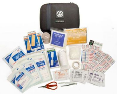 Find VW Volkswagen First Aid Safety Kit Passat Beetle Jetta Golf GTI 000093108B9B9 OE motorcycle in Braintree, Massachusetts, United States, for US $22.84