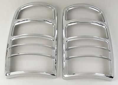 Find Putco 400803 Taillight Covers Bars ABS Plastic Chrome Chevy GMC Pickup SUV Pair motorcycle in Tallmadge, Ohio, US, for US $75.97