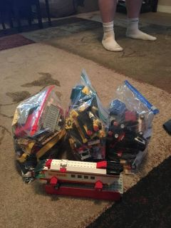3 gallon Sz bags of tiny legos + some - ppu (near old chemstrand & 29) or PU @ the Marcus Pointe Thrift Store (on W st)