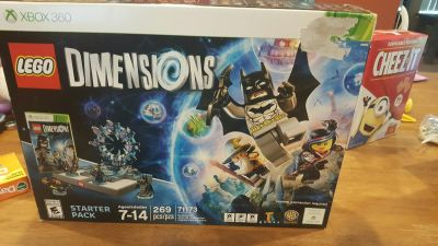 lego dimensions starter pack xbox 360 new in box
