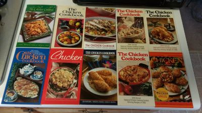 10 chicken cookbooks