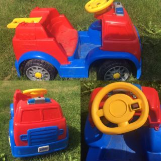 Kids Paw Patrol Fire Truck Ride On