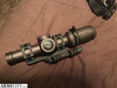 For Sale: Vortex Razor HD GenII 1-6x24 scope