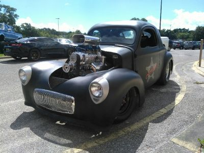 1941 Willys Coupe Blown BBC