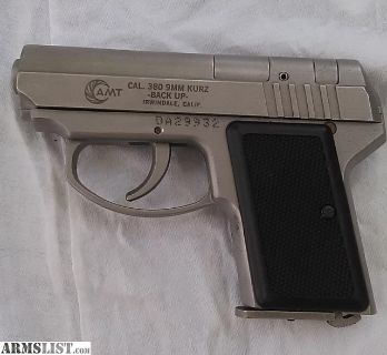 """For Sale: AMT .380 Back Up """"NEVER FIRED"""""""