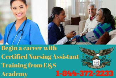 Begin a career as a Certified Nursing Assistant