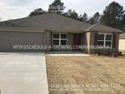 101 Palm St., Jacksonville AR 72076 - New Construction 4br 2ba Graham Woods